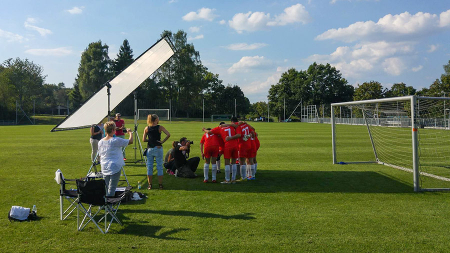 Emotionales Shooting mit Special Olympics