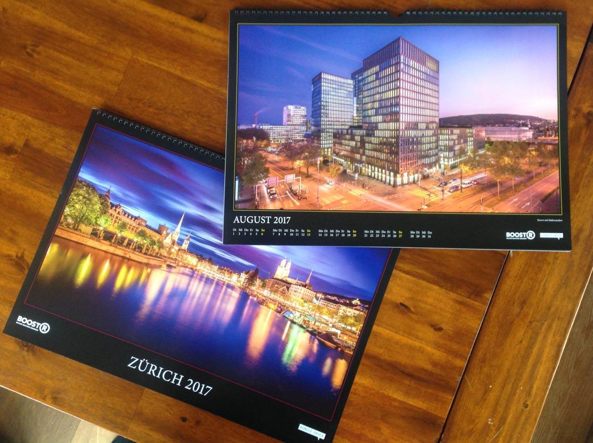 Unser Kalender – frisch von der Druckerei