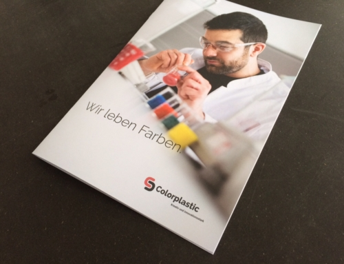 Neue Imagebroschüre für Colorplastic AG