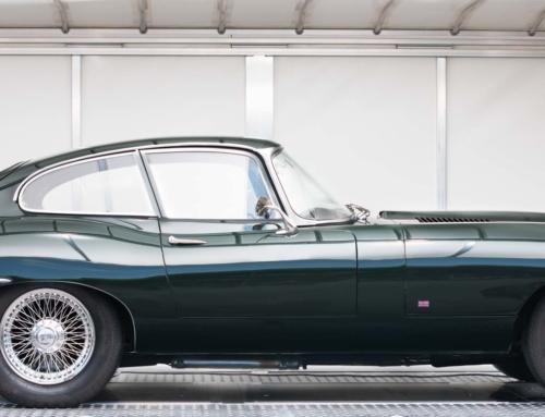 Neue Verpackung für den Jaguar E-Type